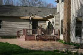 woodframe stone decks