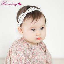 baby girl headbands and bows white lace bows bandeau fille faixa de cabelo baby girl