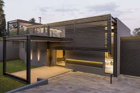 single story modern house design house sar by nico van der meulen