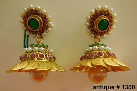 gold earrings for marriage indian wedding jhumka earrings indian bridal jewellery designs