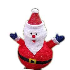 Lighted Snowman Outdoor Decoration by Led Lighted Christmas Santa 32