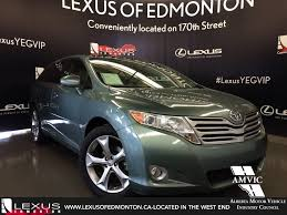 toyota lexus pre owned used 2010 green toyota venza v6 awd walkaround review athabasca