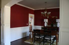 dining room red paint ideas interior home design dining room red paint ideas ooo i like the wainscoting idea or even white trim at