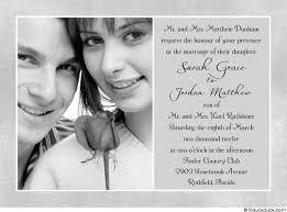 Simple Wedding Invitation Wording Simple Wedding Invitation Ideas Vertabox Com