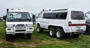 mitsubishi delica off road dinoevo meets superexceeded project dino evolution