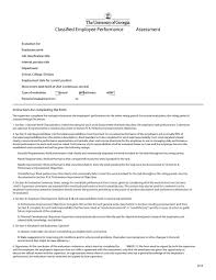 performance review comments 46 employee evaluation forms performance review examples