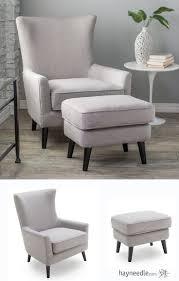 Armchair Ottoman Set Chair Ottoman Skateglasgow Com