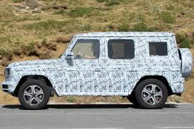 jeep mercedes 2018 new 2018 mercedes g class spied by car magazine