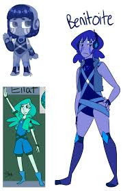 benitoite gem fusion benitoite by the royal ink on deviantart