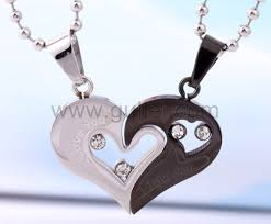 custom necklaces personalized name engrave gift for titanium