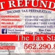 Business Cards Long Beach The Tax Station Tax Services 4647 Long Beach Blvd Long Beach