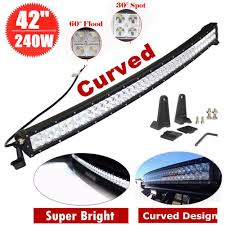 Led Light Bar Driving Lights by 42 Curved 240w Led Light Bar Work Driving Lamp Waterproof Ip67