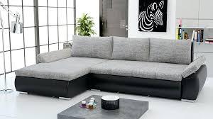 canapé d angle gris et noir canape d angle gris et noir canapac dangle en cuir vacritable 3p