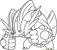 pokemon mega swampert coloring pages images pokemon images