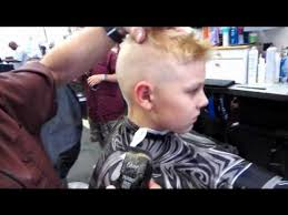 boys haircut clipper number trevor s clipper haircut curved shears cut preview video youtube