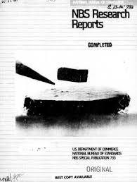 us bureau of standards national bureau of standards research reports summer 1987 digital