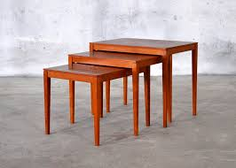 Nesting Dining Table Teak Nesting Tables By Bent Silberg For Mobler Of Denmark Wanted
