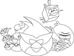 angry birds coloring pages pigs free sheets star wars 2