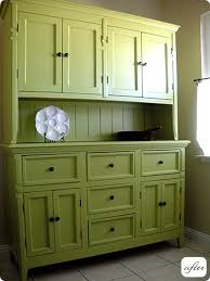 Kitchen Hutch With Desk Before U0026 After Hutch Cabinet And Desk Makeovers U2013 Design Sponge