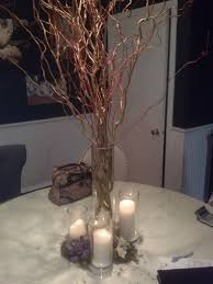 Curly Willow Centerpieces These Centerpieces Cost 100 Opinions Please Weddingbee