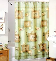 country bathroom shower curtains shower curtains country christmas shower curtain bathroom