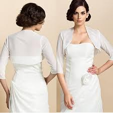 wedding dresses with bolero cheap ivory chiffon wedding bolero jacket for evening dresses