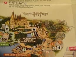 Universal Map Marauder U0027s Map Puzzle Wizarding World Harry Potter 18 Ad