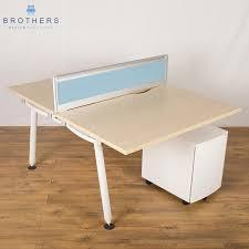 miller abak 1800x800 bench desk