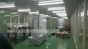 vertical inflow modular cleanroom