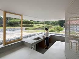 cuisine d architecte maison d architecte une villa transparente ouverte sur la nature