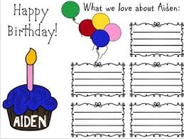 birthday card editable by ms kara teachers pay teachers