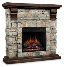 pioneer fireplace dark pine with faux stone levin furniture