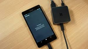 How To Make A Charging Station Microsoft Display Dock Review Can Your Phone Replace Your Laptop