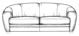 front elevation of sofa memsaheb net