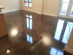 Buffing Laminate Floors Epo Floors Waxed And Buffed Stained Concrete
