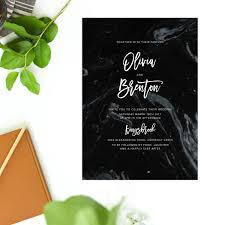 wedding invitations brisbane granite marble wedding invitations