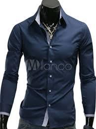 cheap solid color slim fit long sleeve cotton men u0027s dress shirt