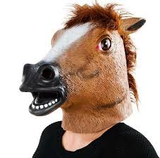 fake horse head fake rubber horse mask z novelties