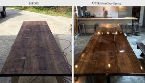 bar top sealant bar table top epoxy commercial grade bartop epoxy