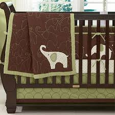 Crib Bedding Green Green Elephant Baby Crib Bedding Offers Complete Comfort And