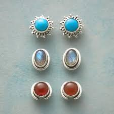 turquoise stud earrings stud earrings robert redford s sundance catalog