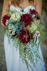 Cascading Bouquet Image Result For Leatherfern Burgundy Cascading Bouquet Flowers