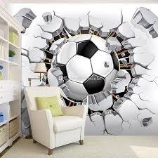 Football Room Decor Football Photo Wallpaper Soccer Wall Mural 3d Wallpaper