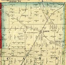 Map Of Mansfield Ohio by Atlas Of Richland County 1856