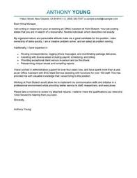 cover letter samples for different careers recentresumes com
