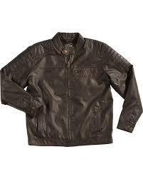cody james men u0027s devils bend faux leather jacket boot barn