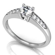 eljegyzesi gyuru 14k arany eljegyzési gyűrű gyémánttal brk 145