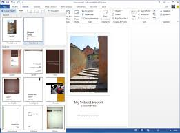 header templates for word starting right templates and built in content in the new word