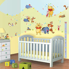 Wall Decor Stickers For Nursery Pooh Wall Pictures Inspiration Wall Design