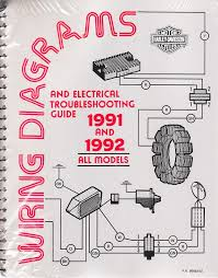 1991 1992 harley wiring diagram schematic electrical